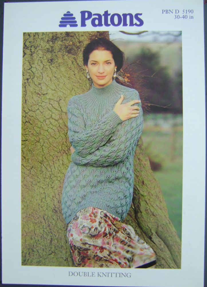 Patons Knitting Pattern 5190